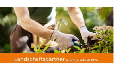 Landschaftsgärtner (m/w/d) in Vollzeit