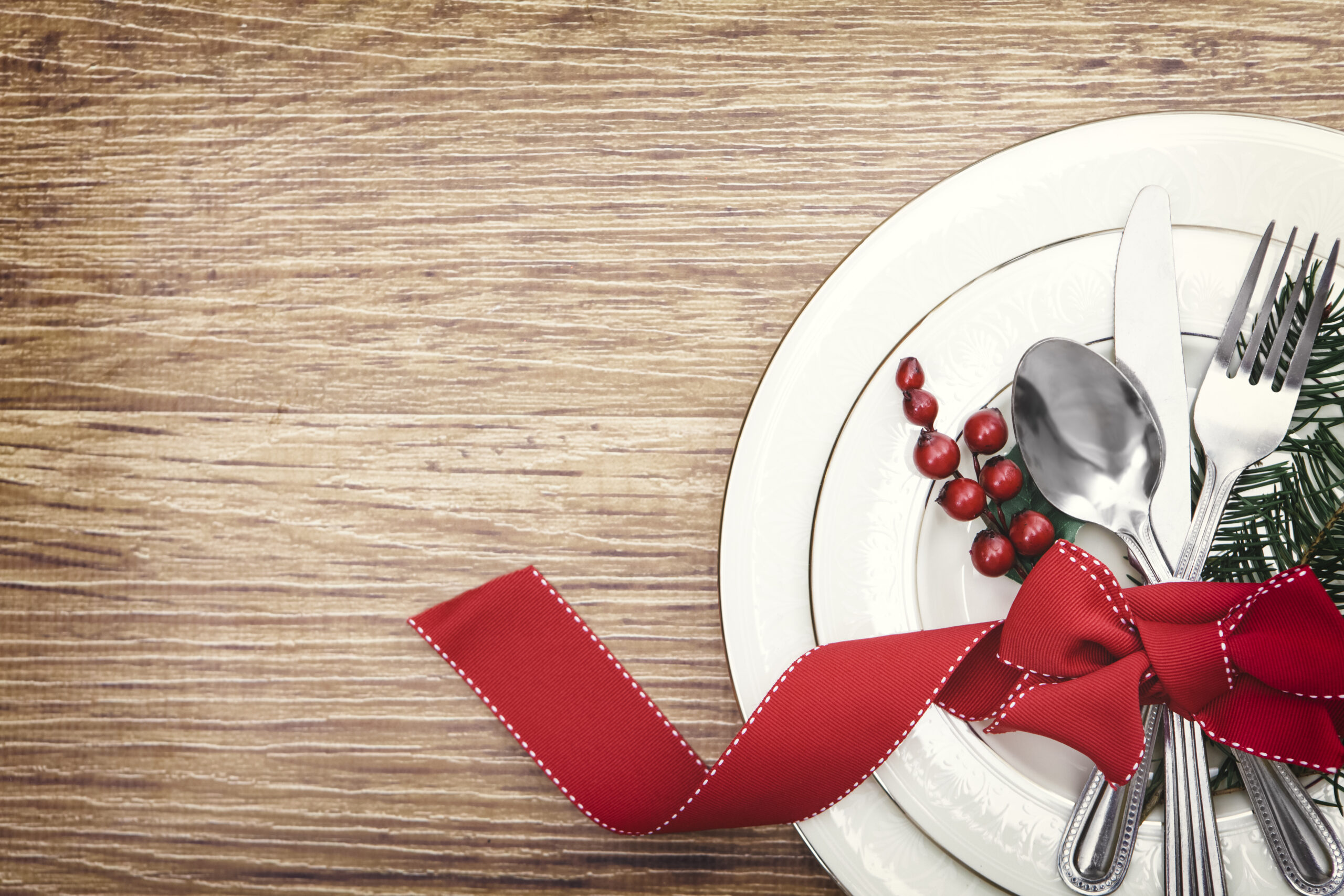 Weihnachtsmenü im Schumm Café